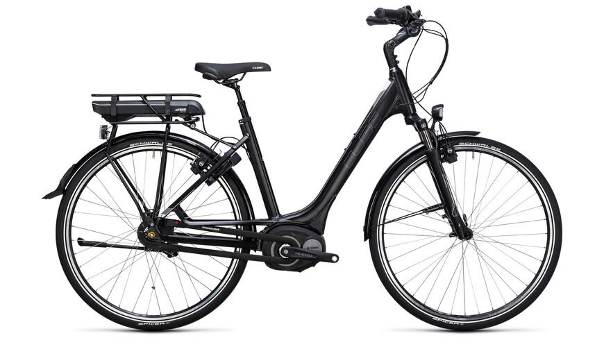 Cube Travel Hybrid RT 400 - Vélo de trekking électrique - Easy Entry noir